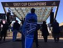 Argo fans celebrate Grey Cup heroes