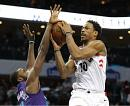 First-place Raptors overpower sleepy Hornets